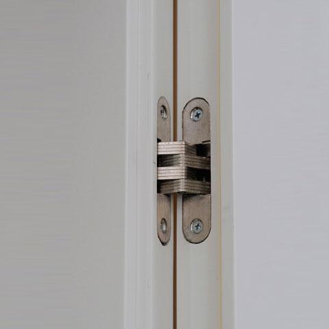 תקריב על ציר של דלת