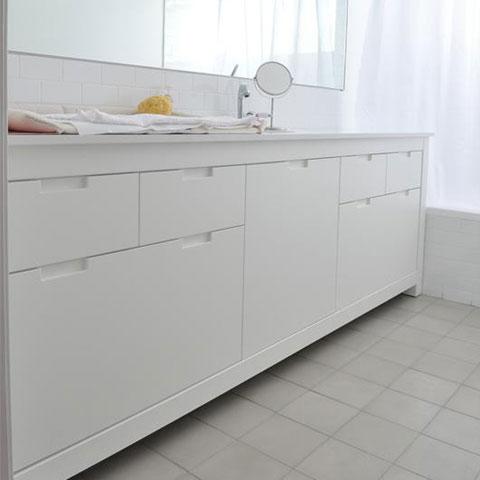 ארונות ומגירות באמבטיה