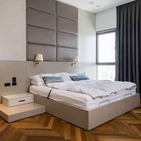 דוגמה לחדרי שינה